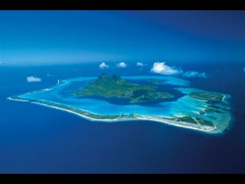 Bora bora island is located here on Google Earth Maps - YouTube