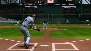 Major League Baseball 2K8 Xbox 360 Gameplay - Tulowitzki