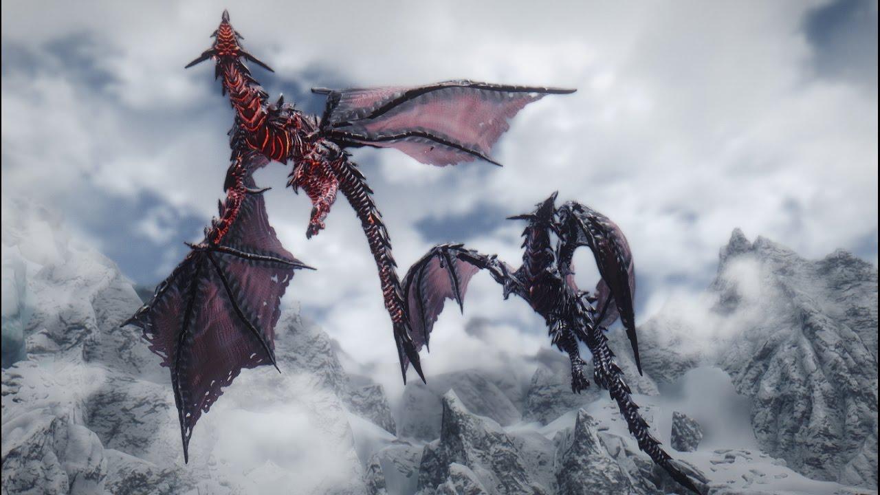 Skyrim Mod - Nithhogg Dragon