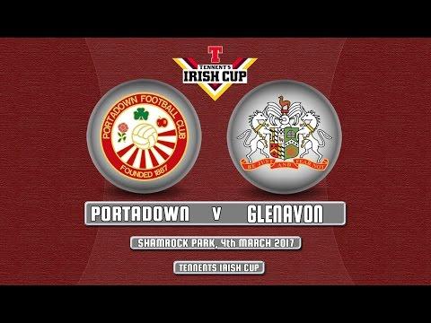 Portadown 0 - 5 Glenavon (TIC)- 04/03/17