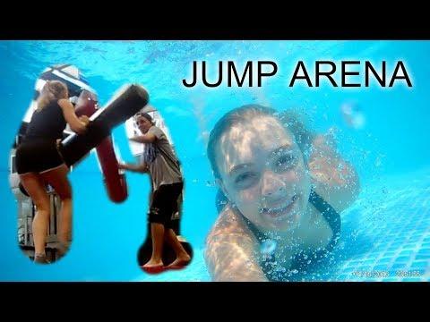 Jump Arena Zličín, já a kamera pod vodou, HAUL   /LEA