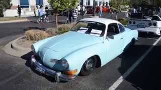 1974 VW Karmann Ghia at Green Valley Ranch Car Show