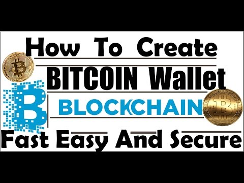 How To Create Bitcoin Wallet/Account Easy, Fast And Secure || Blockchain Wallet Hindi
