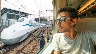 I've tried the train going faster than a plane! (450 km/h) - JAPAN