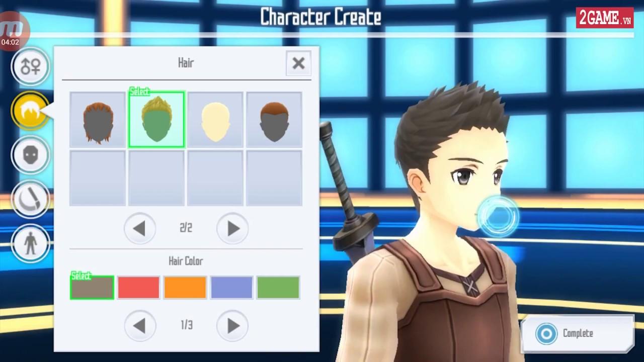 Cận cảnh game mobile Sword Art Online: Integral Factor trong ngày đầu ra mắt bản tiếng Anh