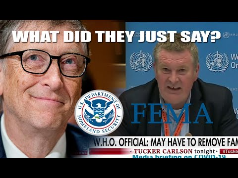 You'll never guess what Bill Gates & W.H.O. want FEMA To  ...