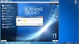 Hướng dẫn ghi file hoặc video vào đĩa DVD bằng phần mềm Ashampoo Burning Studio 11