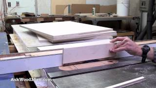 How To Make Plywood Boxes 10 of 64 Woodworking project for kitchen cabinets, desks, etc...