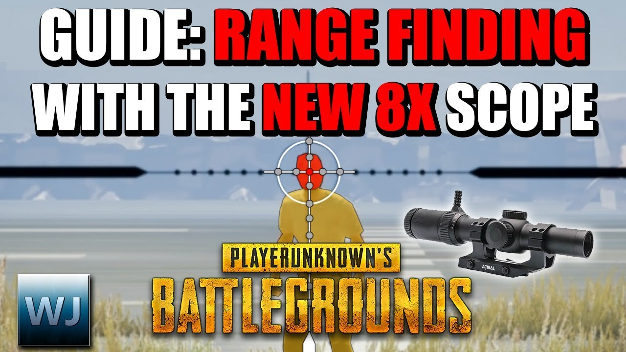 Download GUIDE: How to RANGE FIND with the NEW 8X SCOPE (Measure distance to players) - PUBG