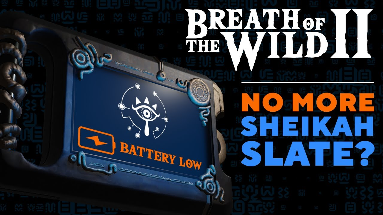 Breath of the Wild 2: No more Sheikah Technology?