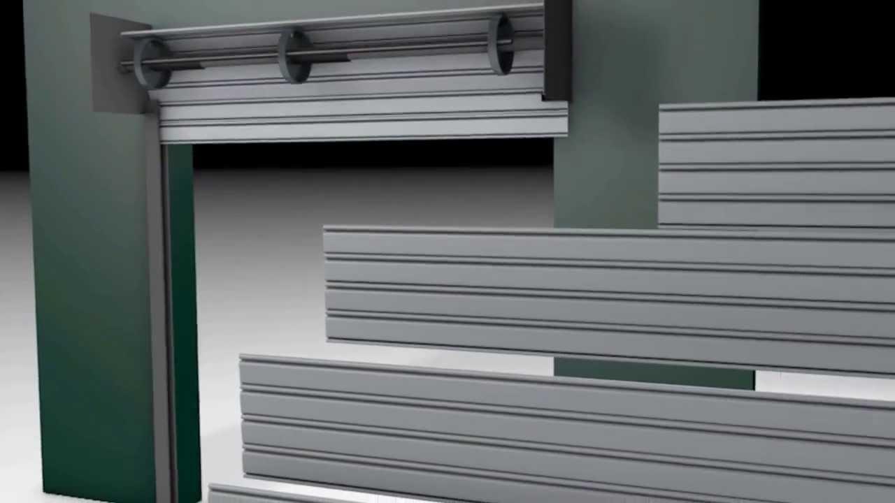 How do Roll up doors work - YouTube