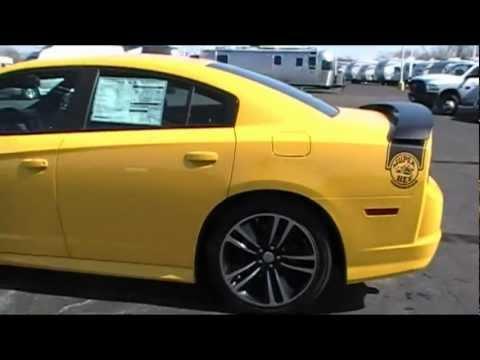 2012 Dodge Charger SRT8 Super Bee Yellow for sale Dayton Piqua