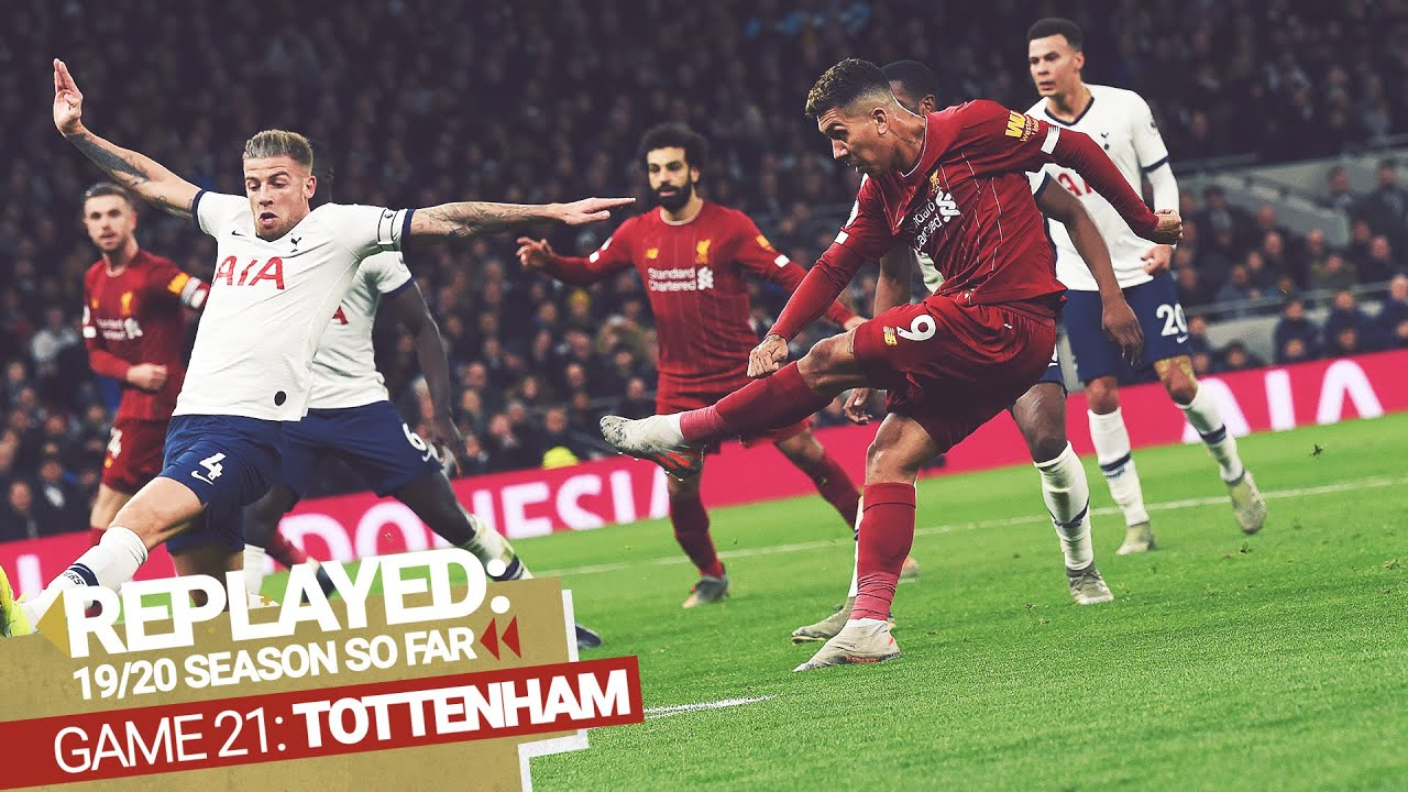 REPLAYED: Tottenham 0-1 Liverpool   Firmino wins it at Spurs
