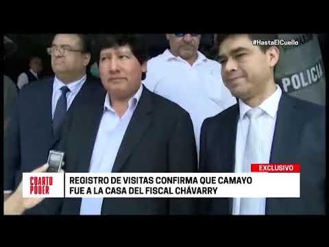 Cuarto Poder: Camayo visitó a Chávarry en mayo del 2018 - YouTube