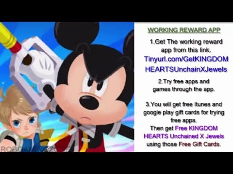 KINGDOM HEARTS Unchained X - Tips - Tricks - Strategies - Get Jewels Faster - IOS ANDROID !