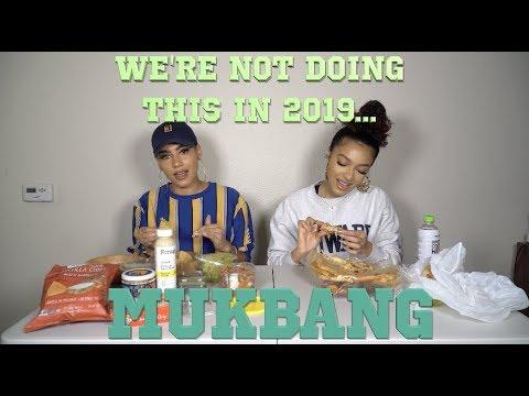 We're not doing this 2019 Mukbang...