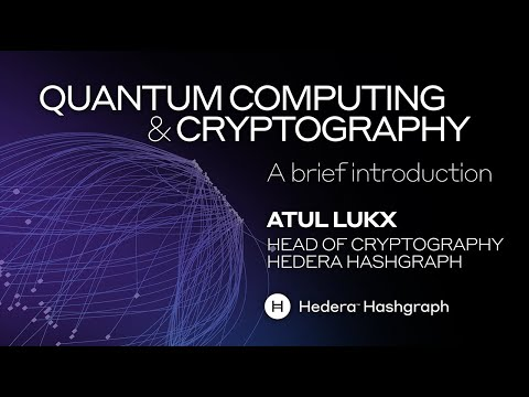 Quantum computing and cryptography - A brief intro