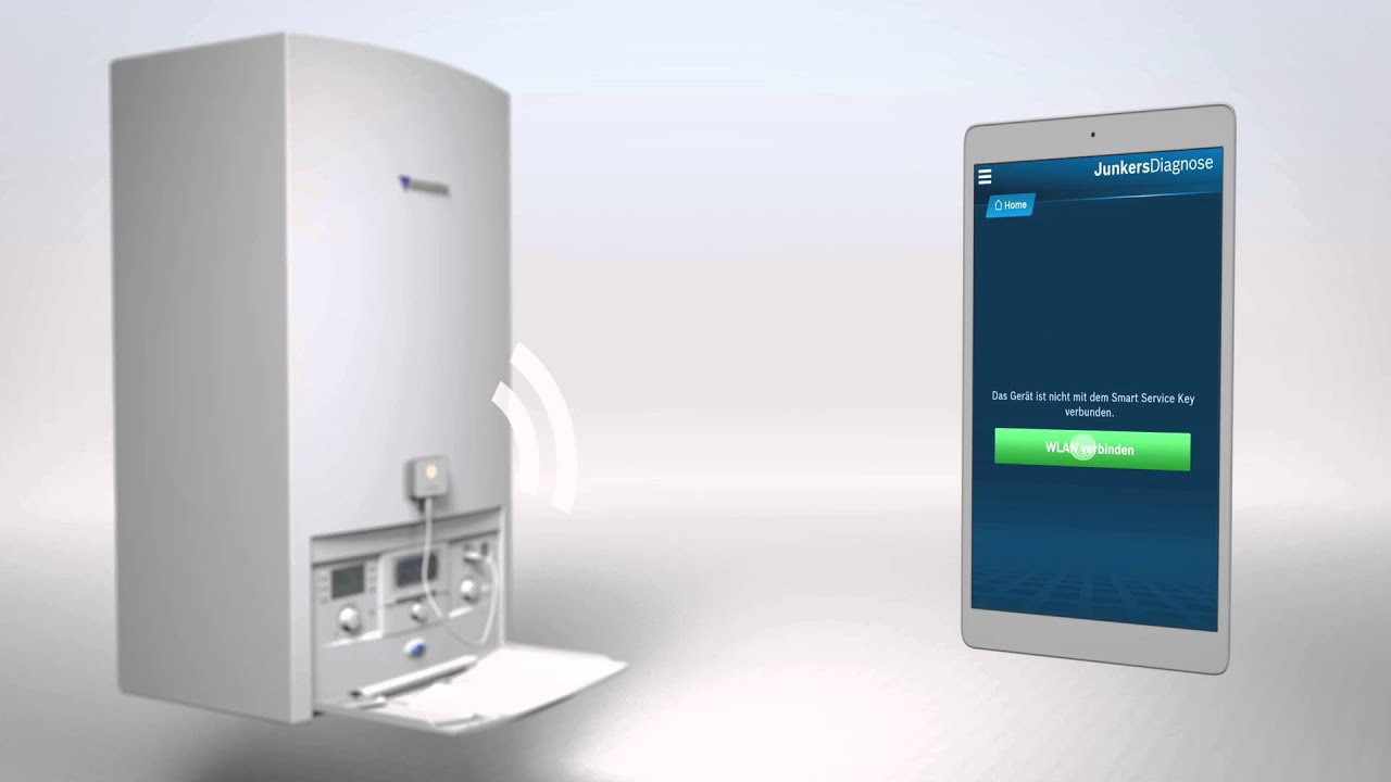 Gastherme Preis Diagnose Software Das Junkers Smart Service Tool