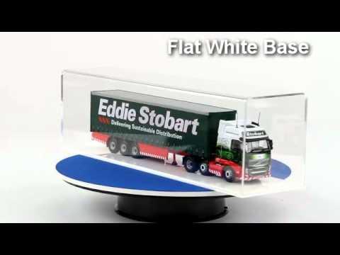 Acrylic Model Wall Display Case for 1:50 Scale Model Trucks 5 Shelves