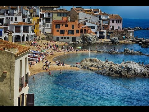 Places to see in ( Girona - Spain ) Calella de Palafrugell