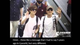 Yesung's Letter for Leeteuk Mp3