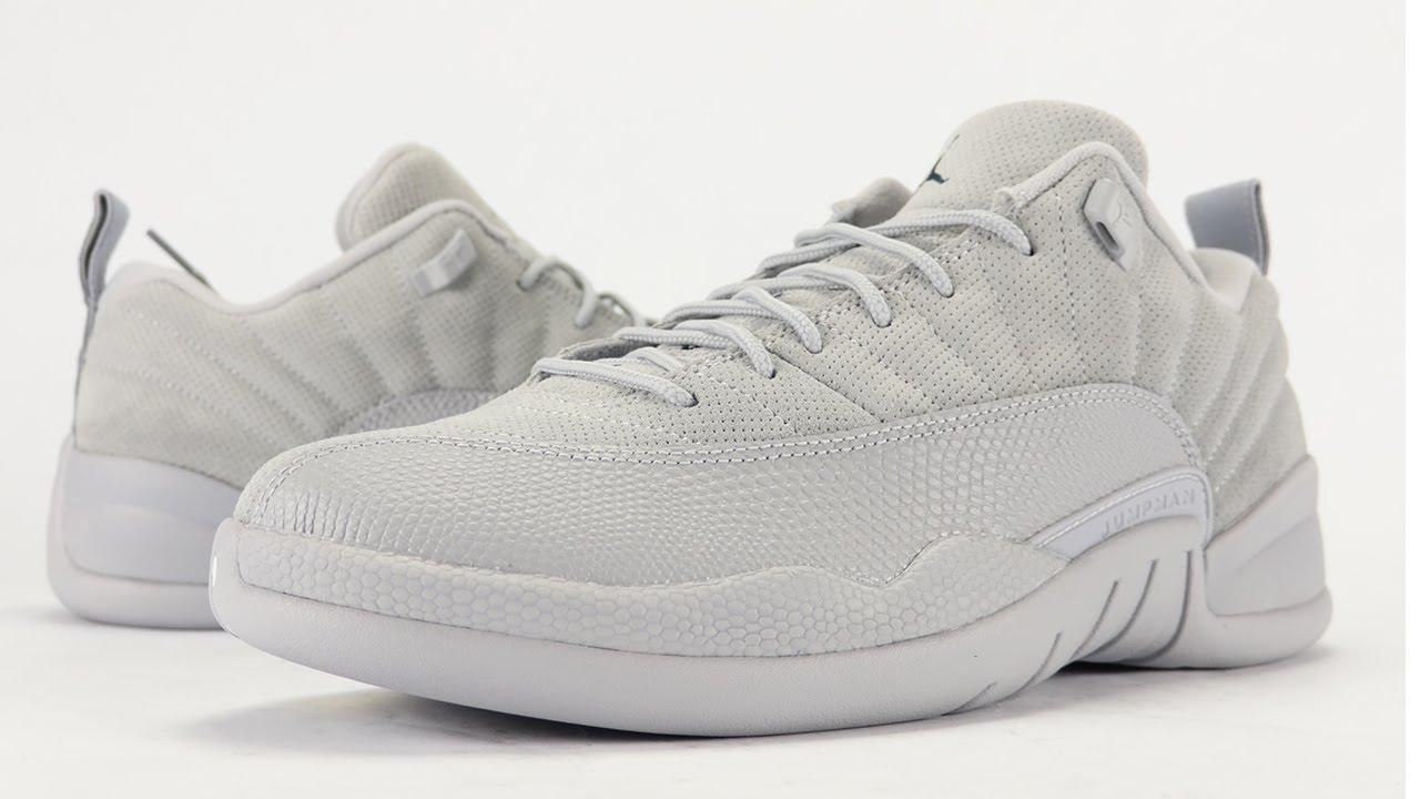 buy popular 0b265 22f97 Air Jordan 12 Low Wolf Grey Georgetown Review + On Feet