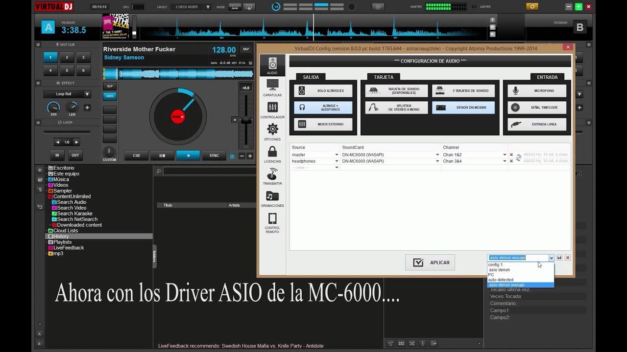 DN-MC6000 ASIO DRIVERS UPDATE