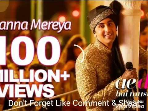 Channa mereya Lyric Video| Ae Dil Hai Mushkil || Karan Johar | Ranbir |Anushka |Female Cover