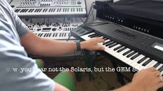 John Bowen Solaris and GEM S3 - Poly Aftertouch