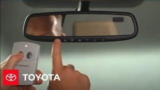 2007 - 2009 Tundra How-To: HomeLink® | Toyota