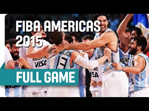 Argentina v Mexico - Semi-Final - Full Game - 2015 FIBA Americas Championship