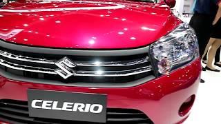 Suzuki Celerio 2018 ,red colour ,Exterior and Interior