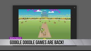 Google Doodle Games Are Back!