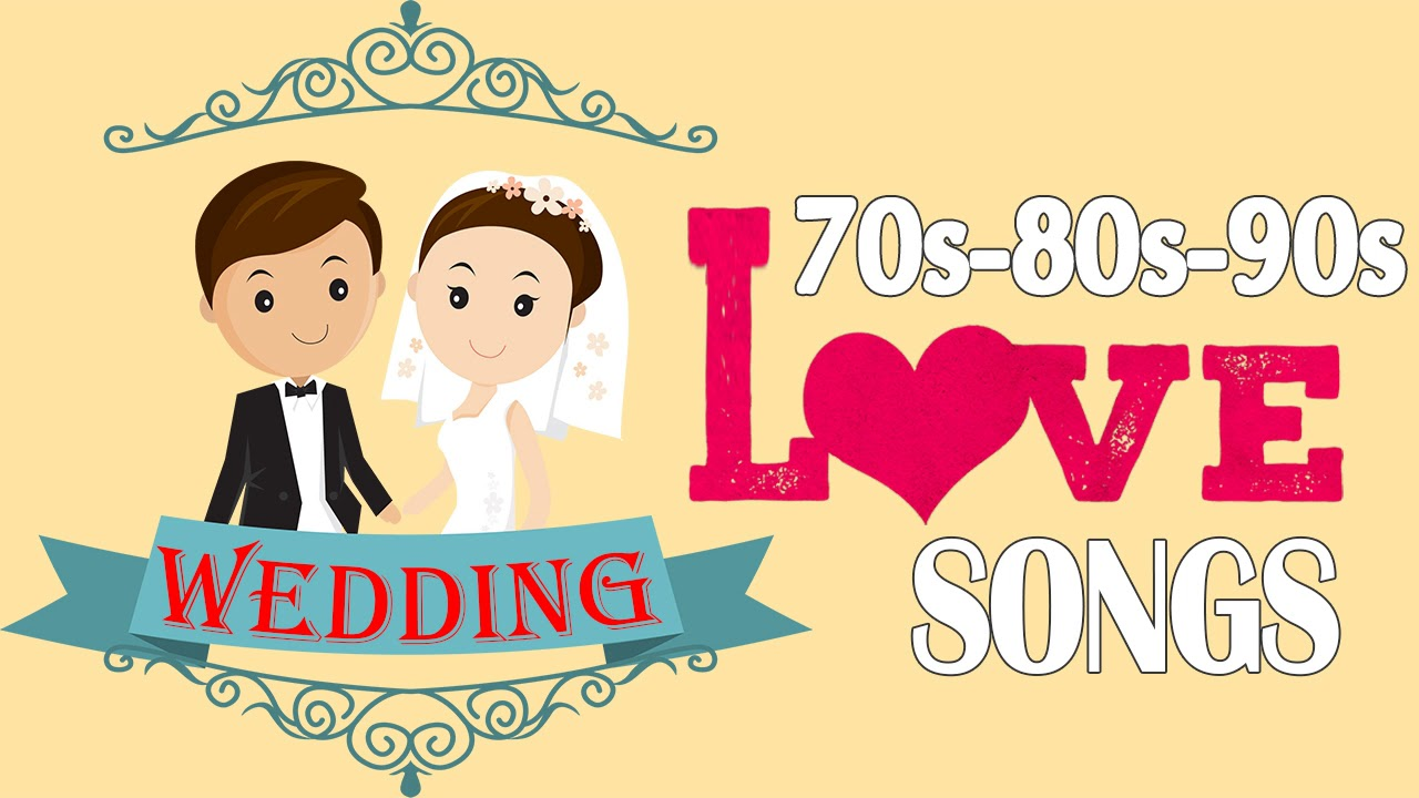 Romantic oldies wedding songs