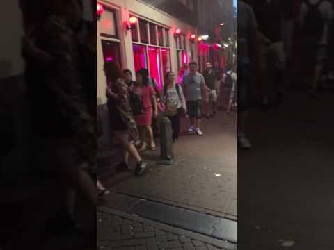 Красный квартал Амстердам