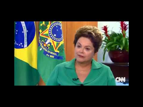 Dilma Rousseff became the first female President of Brazil
