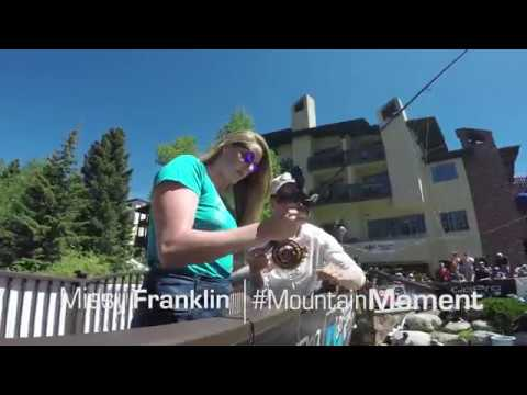 #MountainMoment - Missy Franklin