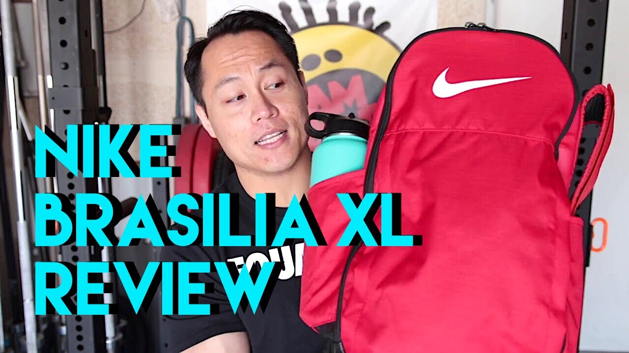 1f2dd6e650e25 Nike BRASILIA XL Backpack Review! - YouTube