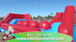 Inflatable Big Baller Wipe Out Game Rental