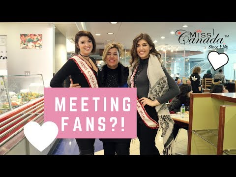 MEETING FANS?! / Exploring Montreal During Pageant Week