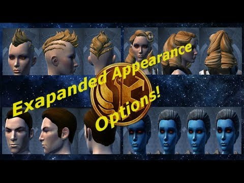 SWTOR: New Cosmetic/Appearance options