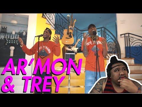 Armon & Trey - SZA, Cardi B & Kendrick Lamar Mash Up [MUSIC REACTION]