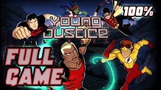 Young Justice: Legacy Walkthrough 100% FULL GAME Longplay (PS3, X360, PC)