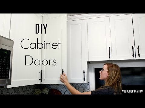 How to Make DIY Cabinet Doors
