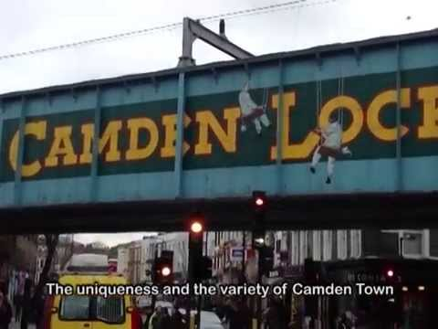 CAMDEN LOCK MARKET Guide for Curious Travellers (Eng Subtitl