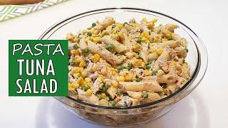 The BEST Creamy Tuna Pasta Salad Recipe