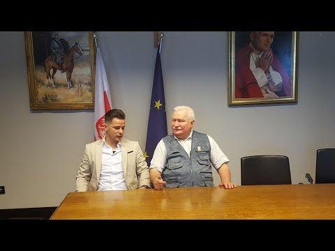 Rafał Collins-Lech  Wałęsa, O przyszłości Polski, Kaczyṅskim, Tusku.