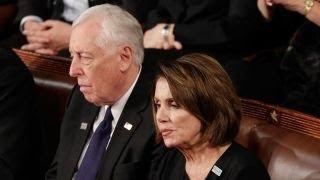 Democrats refuse to applaud Trump agenda