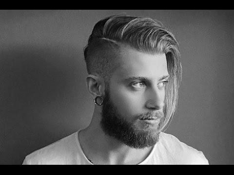 Men S Long Undercut Hairstyle Youtube