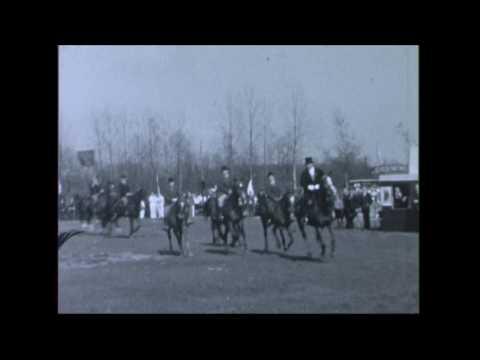 Bijzondere beelden van Doetinchems vliegveld in 1936. Beeld: Oasem Media